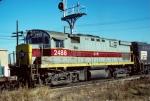 Conrail (Stenciled) Alco C424 #2488