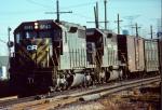 Conrail (stenciled) SD35 #6043 (ex-CNJ)