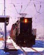 Conrail (stenciled) E44 #4444