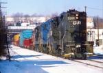 Conrail (stenciled) GP7 #5806
