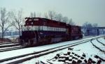EL Bicentennial SD45 #3632 & LV U23B #509 (post Conrail)