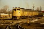 CRI&P E8A #659 A-B-B w/freight
