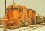 Elgin, Joliet & Eastern SD38-2 #657