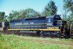 Seaboard Coast Line SD45-2 #2050 (Being Delivered)