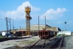 Seaboard Coast Line Uceta GP16 Locomotive Conversion Shop - 1979