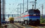 Amtrak E60CP #950 Passing Work Crew