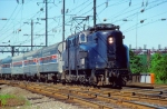 New Jersey Department of Transportation GG1 #4879 Pulling Amtrak