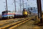 Amtrak E60 & Conrail SD45