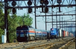 Amtrak E60 & Conrail GP10