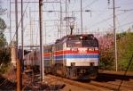Amtrak E60 #953 Passes Holmesburg Prison