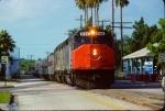 Amtrak SDP40F #644 (Street Running)