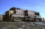 CRI&P U25B #229 (with a serious oil problem)