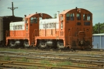 Illinois Central SW13s #1300 & #1301