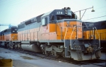 Milwaukee Road SD40-2 #174