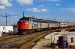 Amtrak E8As #207 & #201