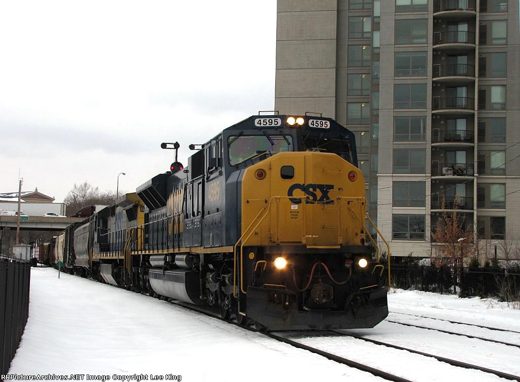 CSX 4595 Q439-17
