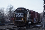 NS 7150 leaving the yard to work local freight Elkhart, IN