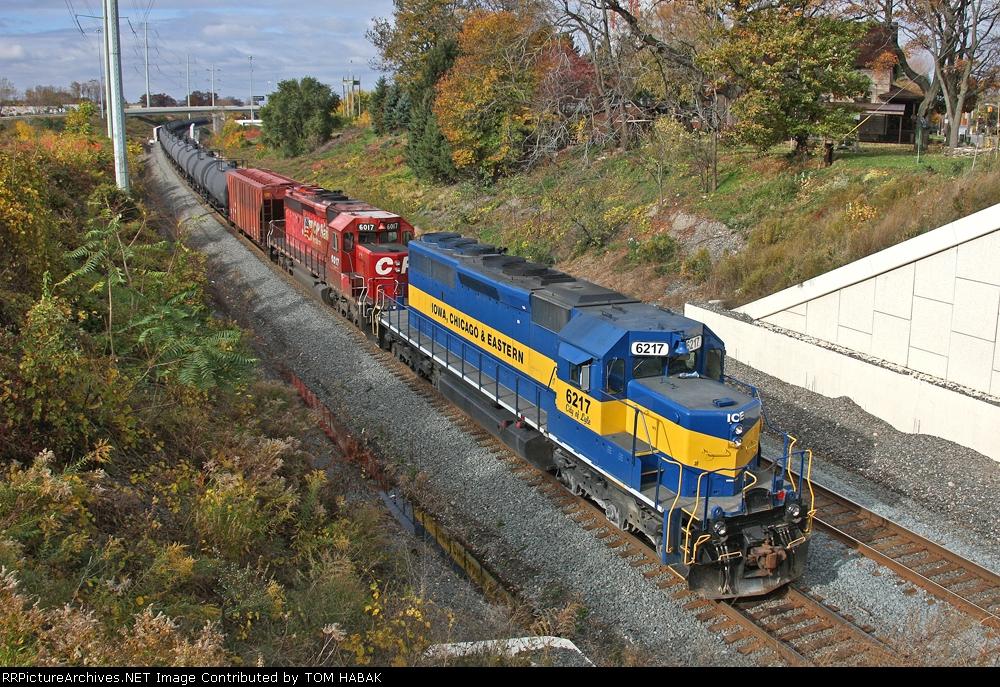 ICE 6217 on CSX K636-24