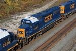 CSX 6428 on CSX Q351-18