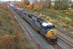 CSX 4525 on CSX Q393-27