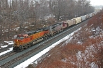 BNSF 4732 on CSX Q393-17