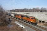 BNSF 5310 on CSX Q380-30