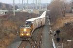 UP 5409 on CSX Q091-02