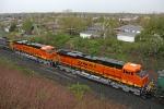 BNSF 7841 on CSX Q393-15