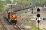 BNSF 8861 on CSX N859-12