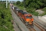 BNSF 1039 on CSX Q380-29