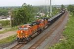 BNSF 4617 on CSX Q393-30