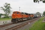 BNSF 9180 on CSX Q393-13