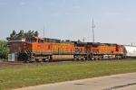 BNSF 4407 on CSX Q393-06