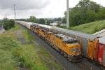 UP 7388 on CSX Q091-09