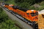BNSF 7896 on CSX Q393-13