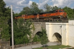 BNSF 1001 on CSX Q393-28