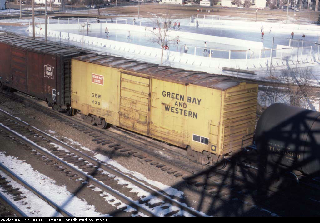 1418-01 CNW East Mpls yard