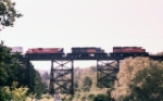 Northbound over trestle-Date Approximate