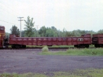 1188-24 DM&IR 373 in local freight near US Steel Duluth Works