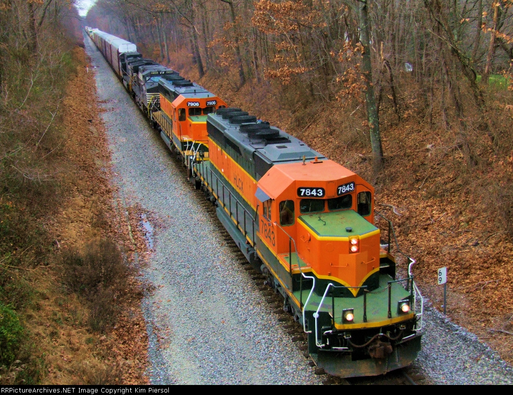 HLCX 7843 & 7906 on NS 290