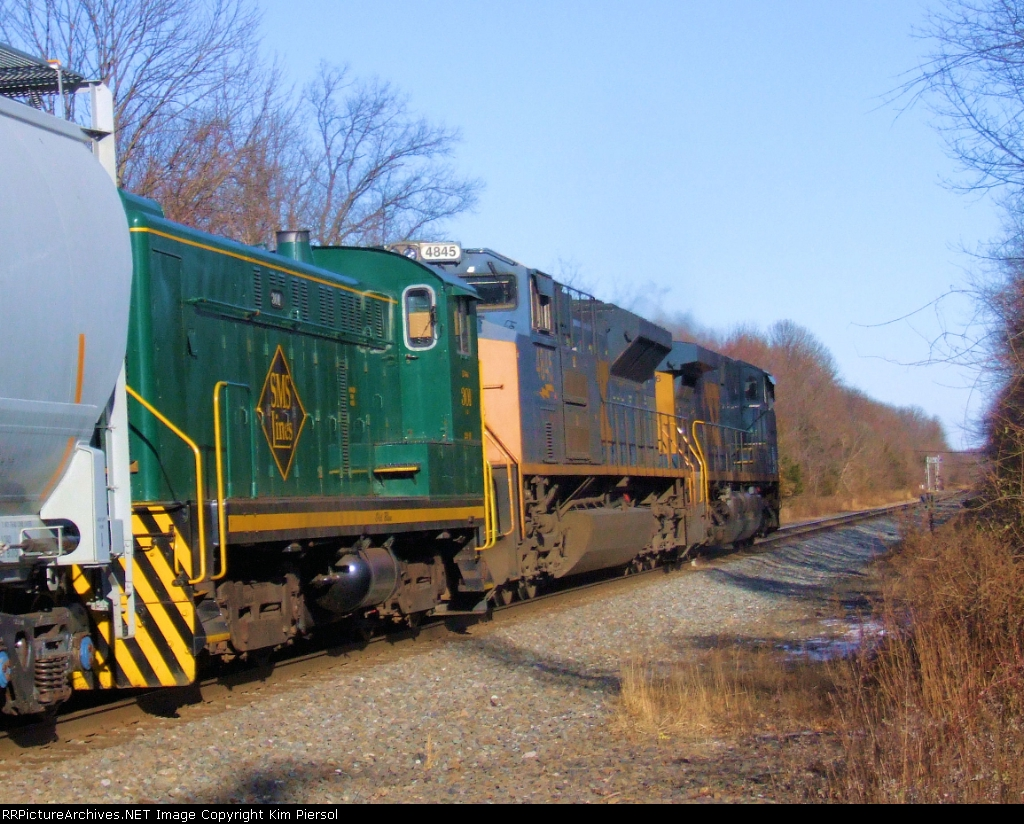 SLRS 301 Baldwin S12 In-Transit on CSX Q418-10
