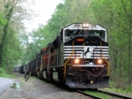NS Train 502 Coal Loads for Portland, PA