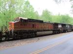 BNSF 4761 NS Train 502