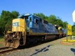 CSX 7534 W086-23 Loaded Herzog Ballast
