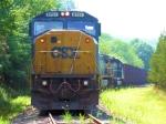 CSX 8751 W086-18 Empty Herzog Ballast