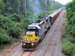 CSX 8880 W062 Loaded Ballast