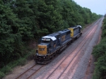CSX 2477 W062 Loaded Ballast