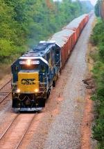 CSX 8525 W062-16 Ballast Loads