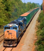 CSX 4809 Q703 Trash Loads