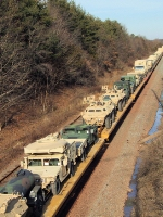 W827 Military on CSX Trenton Line